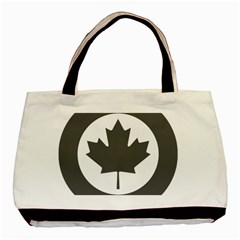 Low Visibility Roundel Of The Royal Canadian Air Force Basic Tote Bag