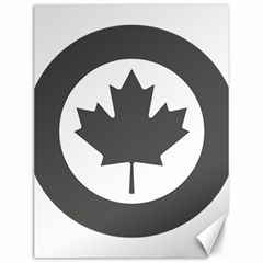 Low Visibility Roundel Of The Royal Canadian Air Force Canvas 12  x 16