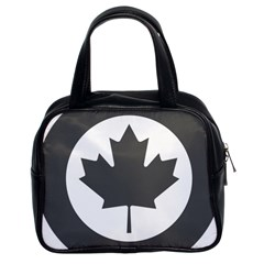 Low Visibility Roundel Of The Royal Canadian Air Force Classic Handbags (2 Sides)