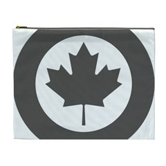 Low Visibility Roundel Of The Royal Canadian Air Force Cosmetic Bag (XL)