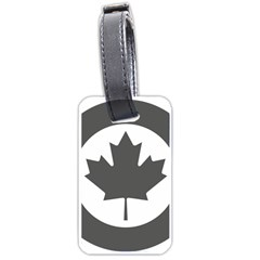 Low Visibility Roundel Of The Royal Canadian Air Force Luggage Tags (One Side)