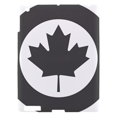 Low Visibility Roundel Of The Royal Canadian Air Force Apple iPad 3/4 Hardshell Case