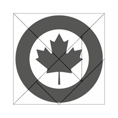 Low Visibility Roundel Of The Royal Canadian Air Force Acrylic Tangram Puzzle (6  X 6 )