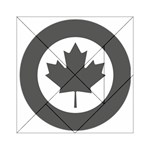 Low Visibility Roundel Of The Royal Canadian Air Force Acrylic Tangram Puzzle (6  x 6 ) Front