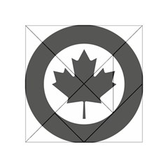 Low Visibility Roundel Of The Royal Canadian Air Force Acrylic Tangram Puzzle (4  X 4 )