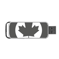 Low Visibility Roundel Of The Royal Canadian Air Force Portable USB Flash (One Side)