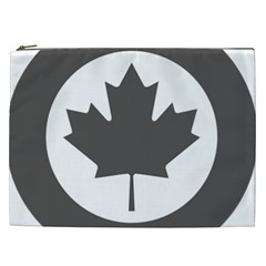Low Visibility Roundel Of The Royal Canadian Air Force Cosmetic Bag (XXL)