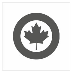 Low Visibility Roundel Of The Royal Canadian Air Force Large Satin Scarf (Square)
