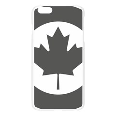 Low Visibility Roundel Of The Royal Canadian Air Force Apple Seamless iPhone 6 Plus/6S Plus Case (Transparent)