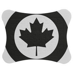 Low Visibility Roundel Of The Royal Canadian Air Force Jigsaw Puzzle Photo Stand (bow)