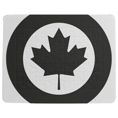 Low Visibility Roundel Of The Royal Canadian Air Force Jigsaw Puzzle Photo Stand (rectangular)