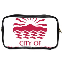 Seal Of Chula Vista Toiletries Bags 2-Side
