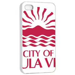 Seal Of Chula Vista Apple iPhone 4/4s Seamless Case (White)