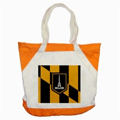 Flag Of Baltimore Accent Tote Bag