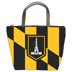 Flag Of Baltimore Bucket Bags