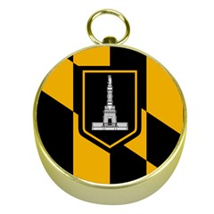 Flag Of Baltimore Gold Compasses