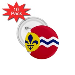 Flag Of St 1 75  Buttons (10 Pack)