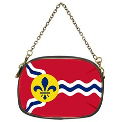 Flag Of St Chain Purses (one Side)