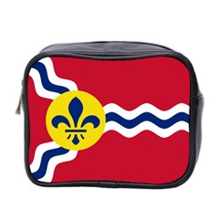 Flag Of St Mini Toiletries Bag 2 Side