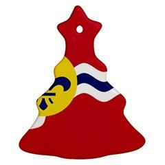 Flag Of St Ornament (Christmas Tree)