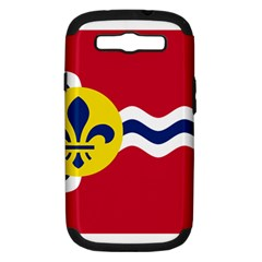 Flag Of St Samsung Galaxy S III Hardshell Case (PC+Silicone)