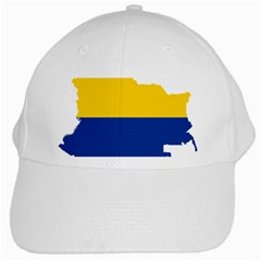 Flag Map Of Colombia White Cap
