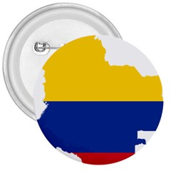 Flag Map Of Colombia 3  Buttons