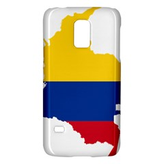 Flag Map Of Colombia Galaxy S5 Mini