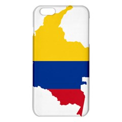 Flag Map Of Colombia Iphone 6 Plus/6s Plus Tpu Case