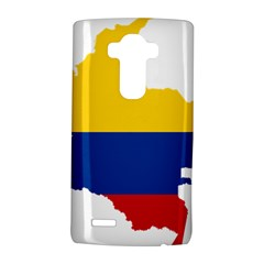 Flag Map Of Colombia Lg G4 Hardshell Case