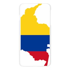 Flag Map Of Colombia Apple Seamless iPhone 6 Plus/6S Plus Case (Transparent)