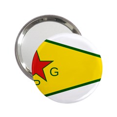 Flag Of The People s Protection Units 2.25  Handbag Mirrors