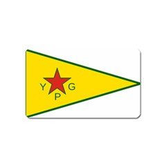 Flag Of The People s Protection Units Magnet (Name Card)