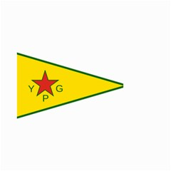 Flag Of The People s Protection Units Small Garden Flag (Two Sides)