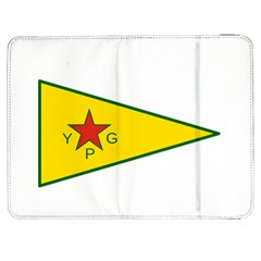 Flag Of The People s Protection Units Samsung Galaxy Tab 7  P1000 Flip Case
