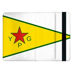 Flag Of The People s Protection Units Samsung Galaxy Tab Pro 12.2  Flip Case