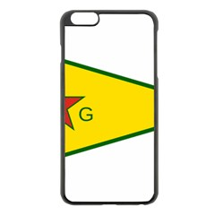 Flag Of The People s Protection Units Apple iPhone 6 Plus/6S Plus Black Enamel Case