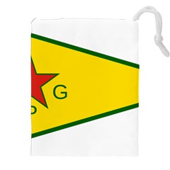 Flag Of The People s Protection Units Drawstring Pouches (xxl)