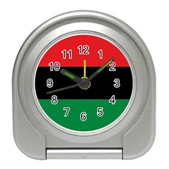 Pan African Flag  Travel Alarm Clocks