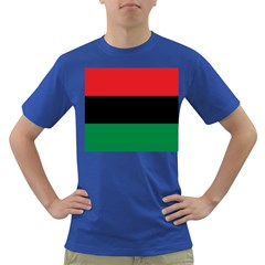 Pan African Flag  Dark T-Shirt