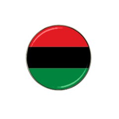 Pan African Flag  Hat Clip Ball Marker (4 pack)