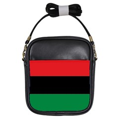 Pan African Flag  Girls Sling Bags