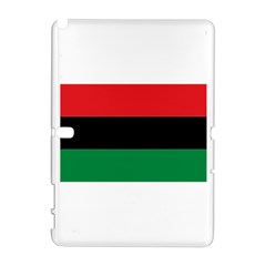 Pan African Flag  Samsung Galaxy Note 10.1 (P600) Hardshell Case