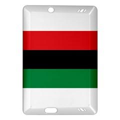 Pan African Flag  Amazon Kindle Fire HD (2013) Hardshell Case