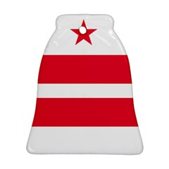 Flag Of Washington, Dc  Ornament (Bell)