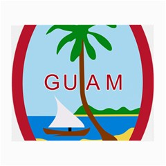 Seal Of Guam Small Glasses Cloth (2-Side)