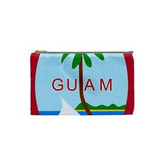Seal Of Guam Cosmetic Bag (Small)
