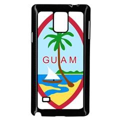 Seal Of Guam Samsung Galaxy Note 4 Case (Black)