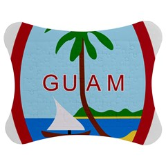 Seal Of Guam Jigsaw Puzzle Photo Stand (Bow)