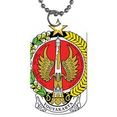 Seal of Yogyakarta  Dog Tag (One Side)